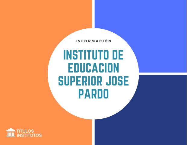 Instituto de Educación Superior José Pardo