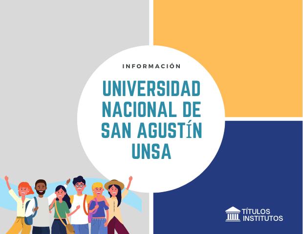 Universidad Nacional de San Agustín UNSA